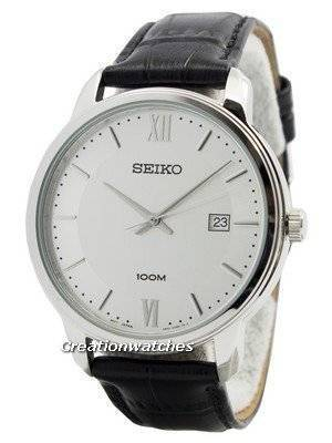 Seiko Quartz Neo Classic SUR201 SUR201P1 SUR201P Men's Watch