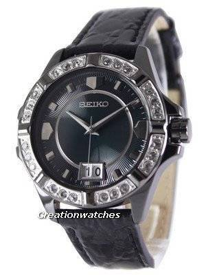 Seiko Quartz Crystals Rose Gold SUR805 SUR805P1 SUR805P Women's Watch