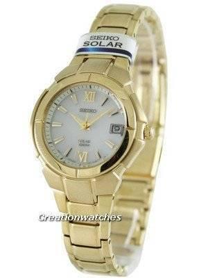 Seiko Solar SUT024 SUT024P1 SUT024P Women's Watch