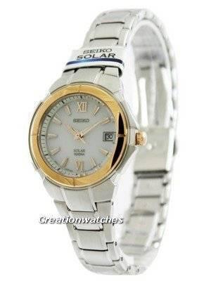 Seiko Solar SUT026P1 SUT026P SUT026 Women's Watch