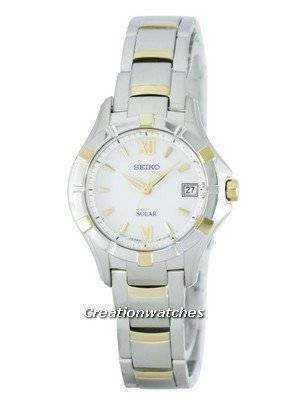 Seiko Solar SUT028 SUT028P1 SUT028P Women's Watch