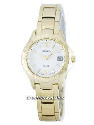Seiko Solar SUT032 SUT032P1 SUT032P Women's Watch