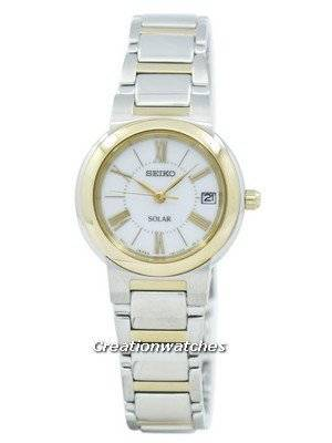 Seiko Solar SUT034 SUT034P1 SUT034P Women's Watch
