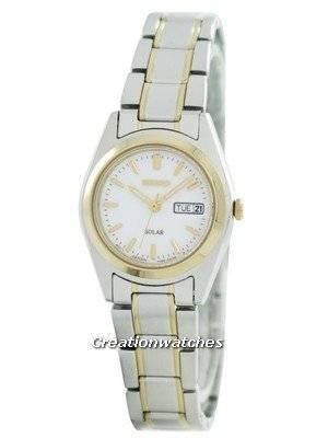Seiko Solar Quartz SUT108 SUT108P1 SUT108P Women's Watch