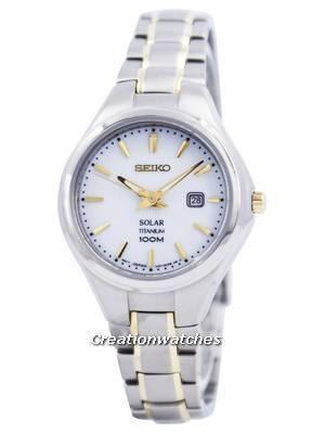 Seiko Solar Titanium 100M SUT203 SUT203P1 SUT203P Women's Watch