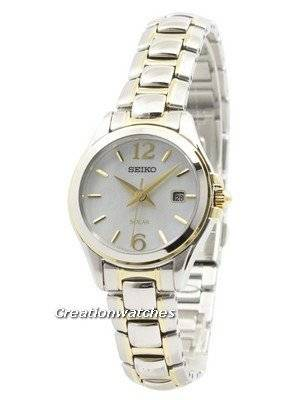 Seiko Solar Mother Of Pearl Dial SUT234 SUT234P1 SUT234P Women\'s Watch