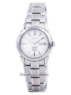 Seiko Sapphire Titanium Quartz SXA111 SXA111P1 SXA111P Women's Watch