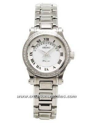 Seiko Premier Ladies Diamond SXD773 SXD773P1 with 48 diamonds