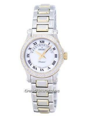 Seiko Premier Ladies Diamond SXD774P1 SXD774 with 48 diamonds
