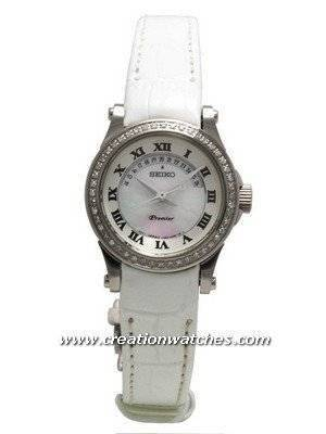 Seiko Premier Ladies Diamond SXD775 SXD775P1 with 48 diamonds