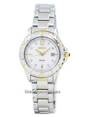 Seiko Sports With 8 Diamonds SXDB26 SXDB26P1 SXDB26P Women's Watch