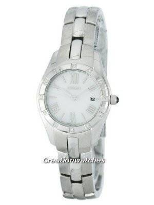 Seiko Quartz Diamond Accent SXDB53 SXDB53P1 SXDB53P Women's Watch