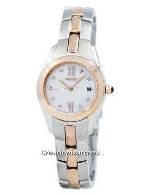 Seiko Diamond SXDB56 SXDB56P1 SXDB56P Ladies Watch