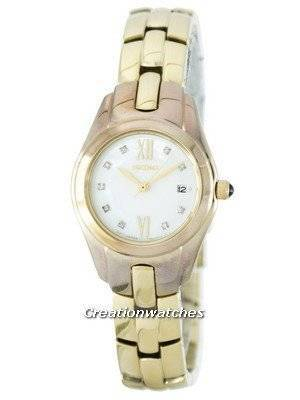 Seiko Quartz Diamond Accent SXDB58 SXDB58P1 SXDB58P Women's Watch
