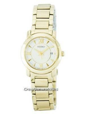 Seiko Quartz SXDC22 SXDC22P1 SXDC22P Women's Watch
