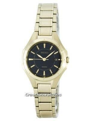 Seiko Quartz 100M SXDE18 SXDE18P1 SXDE18P Women's Watch