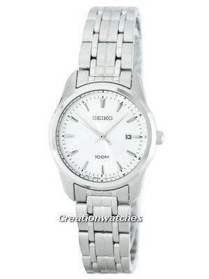 Seiko Quartz 100M SXDE63 SXDE63P1 SXDE63P Women's Watch