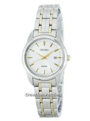 Seiko Quartz 100M SXDE67 SXDE67P1 SXDE67P Women's Watch