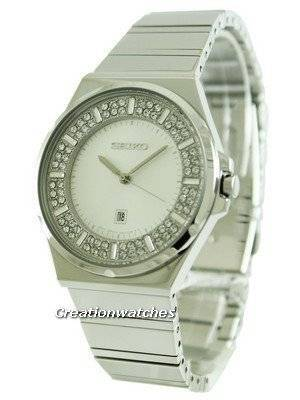 Seiko Quartz Crystal Set Dial SXDF71P1 SXDF71P Women's Watch
