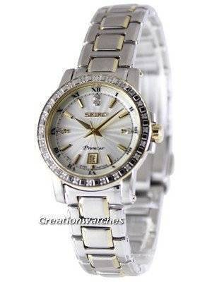 Seiko Premier Quartz Diamonds SXDG58P1 SXDG58P Women's Watch