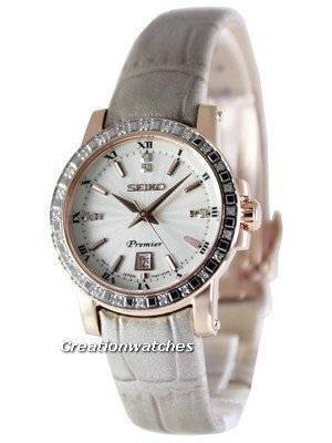 Seiko Premier Quartz Diamonds SXDG60 SXDG60P1 SXDG60P Women's Watch
