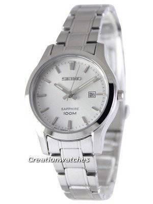 Seiko Sapphire Quartz 100M SXDG61 SXDG61P1 SXDG61P Women's Watch