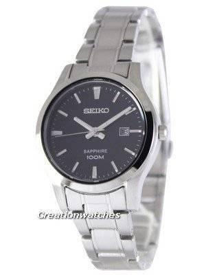 Seiko Sapphire Quartz 100M SXDG63 SXDG63P1 SXDG63P Women's Watch
