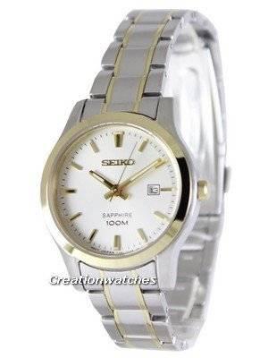 Seiko Sapphire Quartz 100M SXDG64 SXDG64P1 SXDG64P Women's Watch
