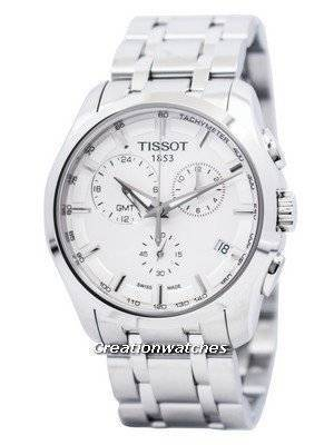 Tissot Couturier Quartz GMT T035.439.11.031.00 T0354391103100 Men's Watch