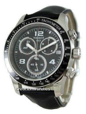 Tissot V8 Chronograph Quartz T039.417.16.057.00 T0394171605700 Mens Watch