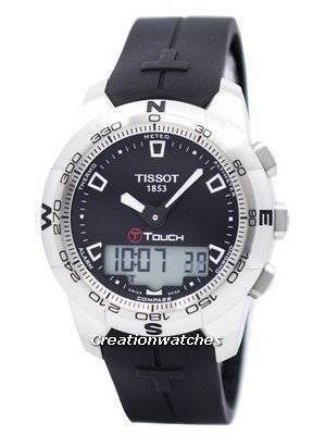 Tissot T-Touch II Analog & Digital Chronograph T047.420.17.051.00 T0474201705100 Men's Watch