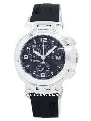 Tissot T-Race Quartz Chronograph T048.217.17.057.00 T0482171705700 Women's Watch