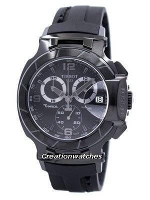 Tissot T-Race Chronograph T048.417.37.057.00 T0484173705700 Men's Watch