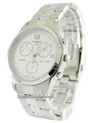 Tissot T-Classic PR 100 Chronograph Quartz T049.417.11.037.00 T0494171103700 Men's Watch
