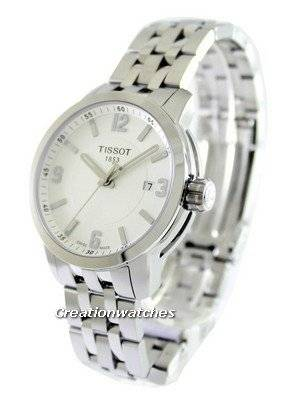 Tissot T-Sport PRC 200 Quartz White Dial T055.410.11.017.00 T0554101101700 Men's Watch