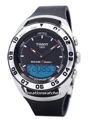 Tissot Sailing Touch Analog Digital T056.420.27.051.01 T0564202705101 Men's Watch