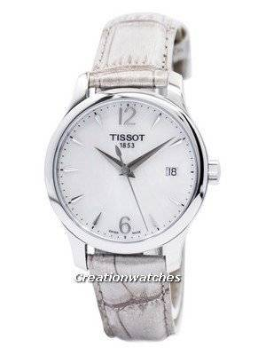 Tissot T-Classic Tradition Quartz T063.210.17.117.00 T0632101711700 Women's Watch