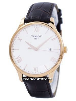 Tissot T-Classic Tradition Quartz T063.610.36.038.00 T0636103603800 Men's Watch