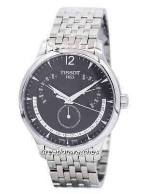 Tissot T-Classic Tradition Perpetual Calendar T063.637.11.067.00 T0636371106700 Men's Watch