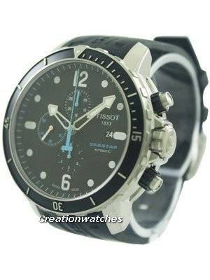 Tissot T-Sport Seastar 1000 Automatic Chronograph T066.427.17.057.00 T0664271705700 Men's Watch
