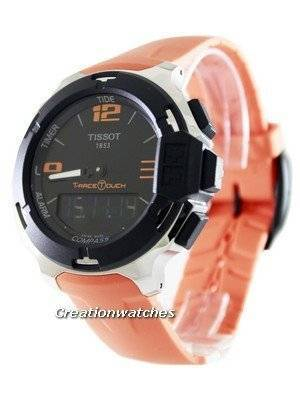 Tissot T-Race Touch Analog-Digital T081.420.17.057.02 T0814201705702 Men's Watch