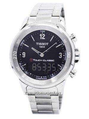 Tissot T-Touch Classic Analog-Digital T083.420.11.057.00 T0834201105700 Men's Watch