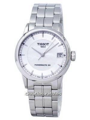 Tissot Luxury Powermatic 80 T086.207.11.111.00 T0862071111100 Women's Watch