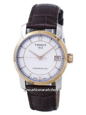 Tissot Titanium Powermatic 80 T087.207.56.117.00 T0872075611700 Women's Watch
