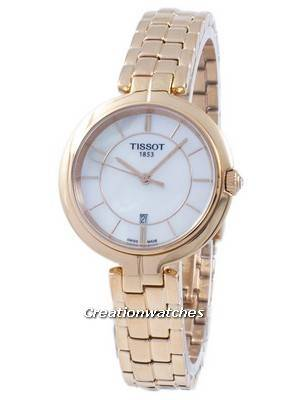 Tissot T-Lady Flamingo Quartz T094.210.33.111.01 T0942103311101 Women's Watch