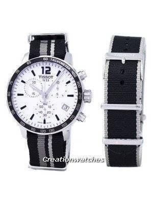 Tissot T-Sport Quickster Chronograph Quartz T095.417.17.037.10 T0954171703710 Men's Watch