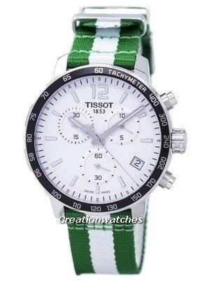 Tissot Quickster NBA Boston Celtics T095.417.17.037.17 T0954171703717 Men's Watch
