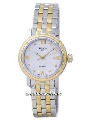 Tissot T-Classic Bridgeport Automatic T097.007.22.116.00 T0970072211600 Women's Watch