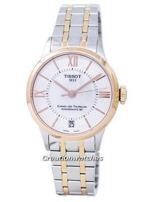Tissot Chemin Des Tourelles Powermatic 80 T099.207.22.118.01 T0992072211801 Women's Watch