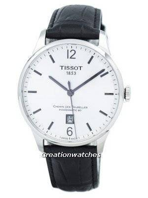 Tissot Chemin Des Tourelles Powermatic 80 T099.407.16.037.00 T0994071603700 Men's Watch